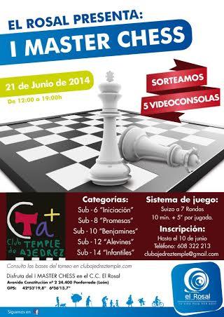I MASTER CHESS El ROSAL PONFERRADA