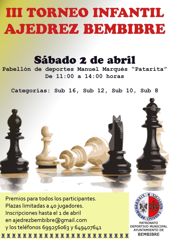 cartel torneo 2 abril